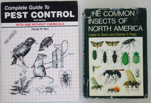 Insectes nuisibles, entomologie