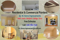 We Paint Residential & Commercial - Indoor & Outdoor - Painters.