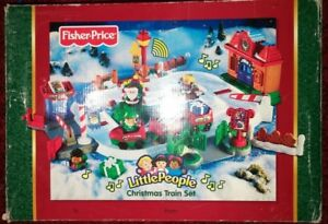 train de Noel Little People Fisher Price