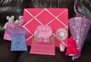 Girl's Room Pink Themed Decor/Accessories