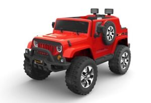 Electric Ride On Toy Car Jeep + Wireless Remote