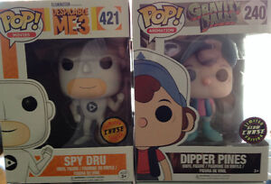 FUNKO POP CHASE FIGURES - ALL MINT PERFECT !