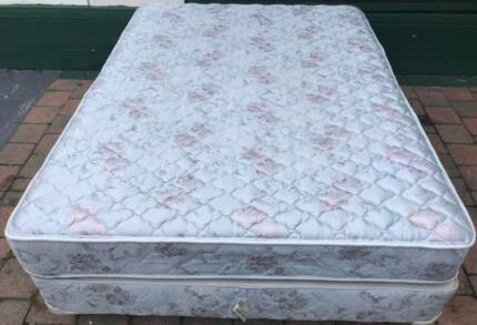 Good condition Sealy Brand double bed. Delivery can be organised