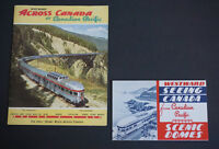 Vintage GOlden Age - Canadian Pacific Railway Maps