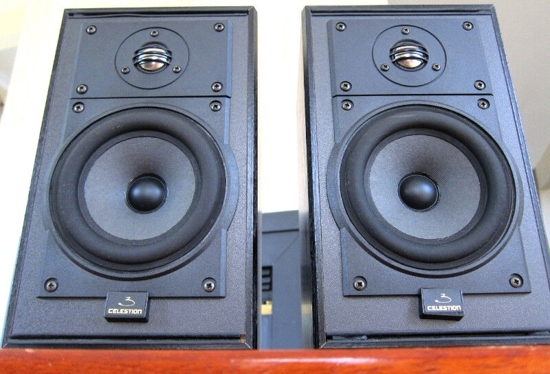 CLASSIC BRITISH CELESTION 3 MK II BOOKSHELF SPEAKERS NICE