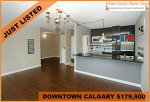 NEWLY RENOVATED DOWNTOWN CALGARY STUDIO FOR SALE