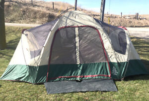 Excellent Woods 7 Person Dome Tent SEE VIDEO