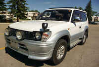 ***1996 Toyota Land Cruiser***SWB***AWD***105Km***Remote Start**