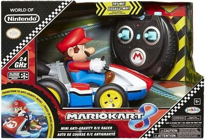 World of Nintendo Mario Kart 8 Mini Anti-Gravity R/C Car ()