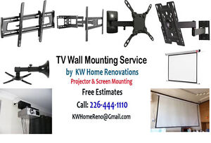 TV Wall Mount - TV Hookup - Home Entertainment System  We sell