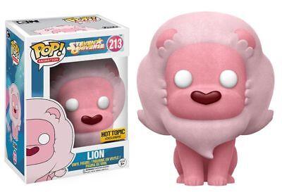 Funko Pop! Animation #213 Steven Universe Flocked Lion Hot Topic Exclusive - Steven Universe Steven
