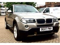 BMW X3, Diesel,90000 with full service history,Hpi clear