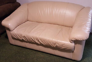 3-Piece LEATHER Couch, Loveseat, Chair