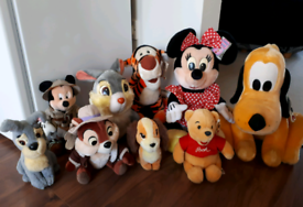 Authentic Disney plush soft toys