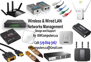 Wireless & Wired LAN Networks Management - Design and Support...