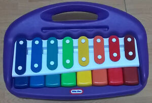 Little Tikes Purple Tap-a-Tune Piano Xylophone With Carrying Han