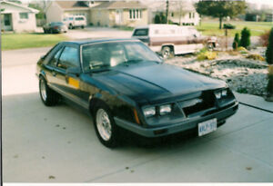 86 Mustang Turbo GT