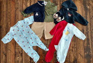 Baby Boy clothes 3-6 months (small lot)