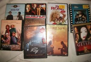 Lot of 9 DVD's