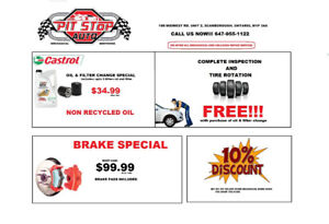 Come in for all your mechanical needs- BEST PRICES