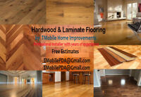 Hardwood & Laminate Floor Installations by Experienced Installer
