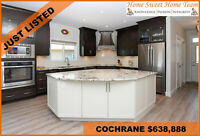 EXQUISITE COCHRANE HOME FOR SALE WITH OVER $100,000 IN UPGRADES