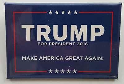 Donald Trump For President 2016 Make America Great Again Campaign Button!!