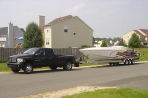 Rv and boat hauling