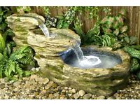 Cascading Water feature with light-143cm