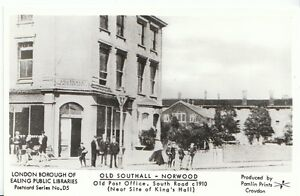 London-Postcard-Old-Southall-Norwood-Old-Post-Office-South-Road-A2972