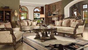 Homey Design Lucia European Style Sofa And Loveseat Furniture HD 1609