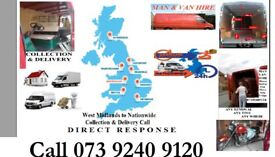 wolverhampton Man & van hire Wolverhampton House Removal Collection & Delivery to All UK Couriers