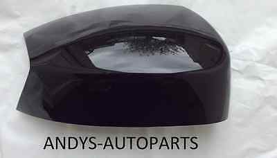 FORD SMAX  05   10 WING MIRROR COVER LH OR RH IN PANTHER BLACK