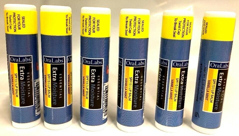 SPF 15 Vanilla Mint Ora Labs Essential Extra Moisture Lip Ba