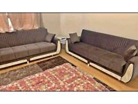 ** HUGE SALE ** ON NEW SULTAN SOFA-BED RANGES AVAILABLE IN DIFFERENT SIZES AND COLORS