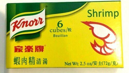 Knorr Shrimp Flavor Bouillon Cubes 2.5 oz x 6 Cubes