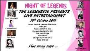 Night of Legends Lesmurdie Kalamunda Area Preview