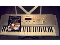 Excellent Condition Acoustic Solutions Electric Keyboard with Stand and Beginners Course