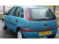 2003 vauxhal corsa, very nice and clean,...
