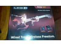 LINE 6 RELAY G30 Wireless systems Guitars and basses - like new condition