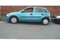 BLUE CORSA 2002...QUICKSALE...GREAT CAR...