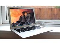 "Macbook AIR 2014 - 13"" - i5 - 4GB - 128GB . 1 year apple care ,Final cut , Logic Pro , Office 2016"