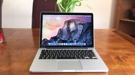 Apple MacBook Pro 13 inch *RETINA DISPLAY* Core i5 2.6 Ghz 8gb Ram 128 SSD LogicProX Adobe Final Cut