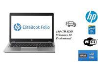 Branded Laptop HP Elitebook Folio 9470M Intel Core i5 3427U 2.3GHz,4GB RAM 180GB SDD with Windows 10