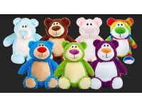 Teddy bears & soft toy animals personalised