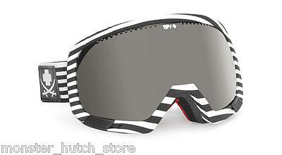 12d081264977 BRAND NEW Spy Optic PLATOON SKALLYWAG FLIGHT Bronze Silver Lens Snow Ski  Goggle