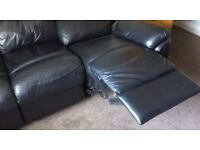 LARGE RECLINER SOFA.