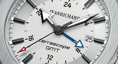 NIB Jean Richard Terrascope Automatic GMT with Bracelet, MSRP: $4300 (10+ Pics)
