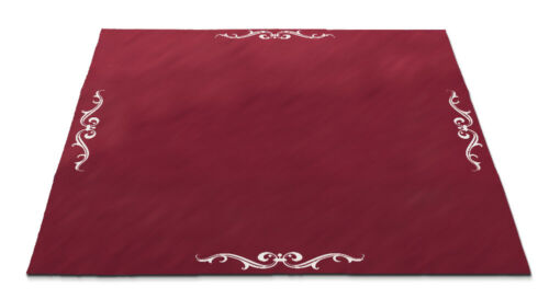 """* Red Lenormand Velvet Altar Cloth Large 32"""" Lo Scarabeo Wiccan Pagan Altar"""