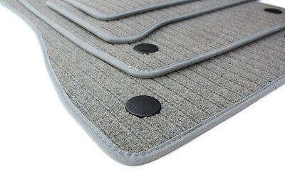 Fußmatten passend für Mercedes Benz E-Klasse W211 S211 Premium Velourmatte RIPS